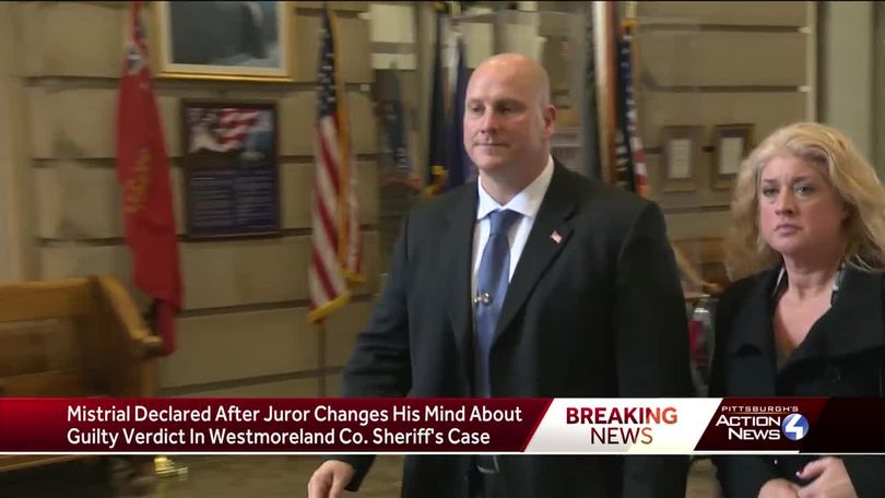 Following strange mistrial ending, Westmoreland County sheriff will