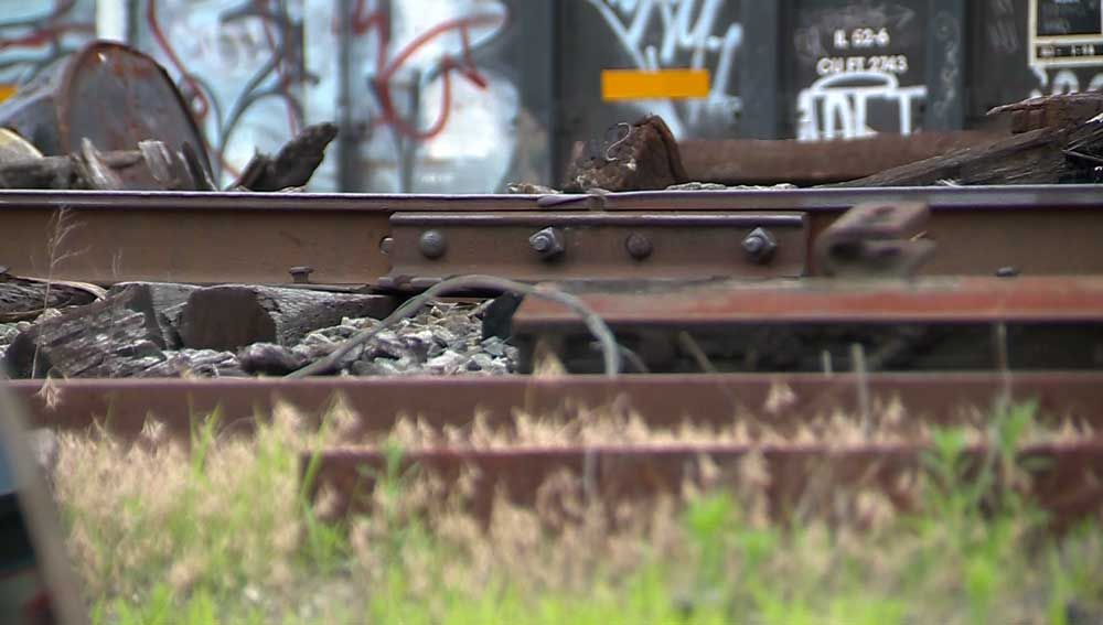 Abandoned twin babies found near railroad tracks