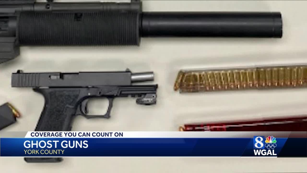 Police seize ghost gun during drug bust in York