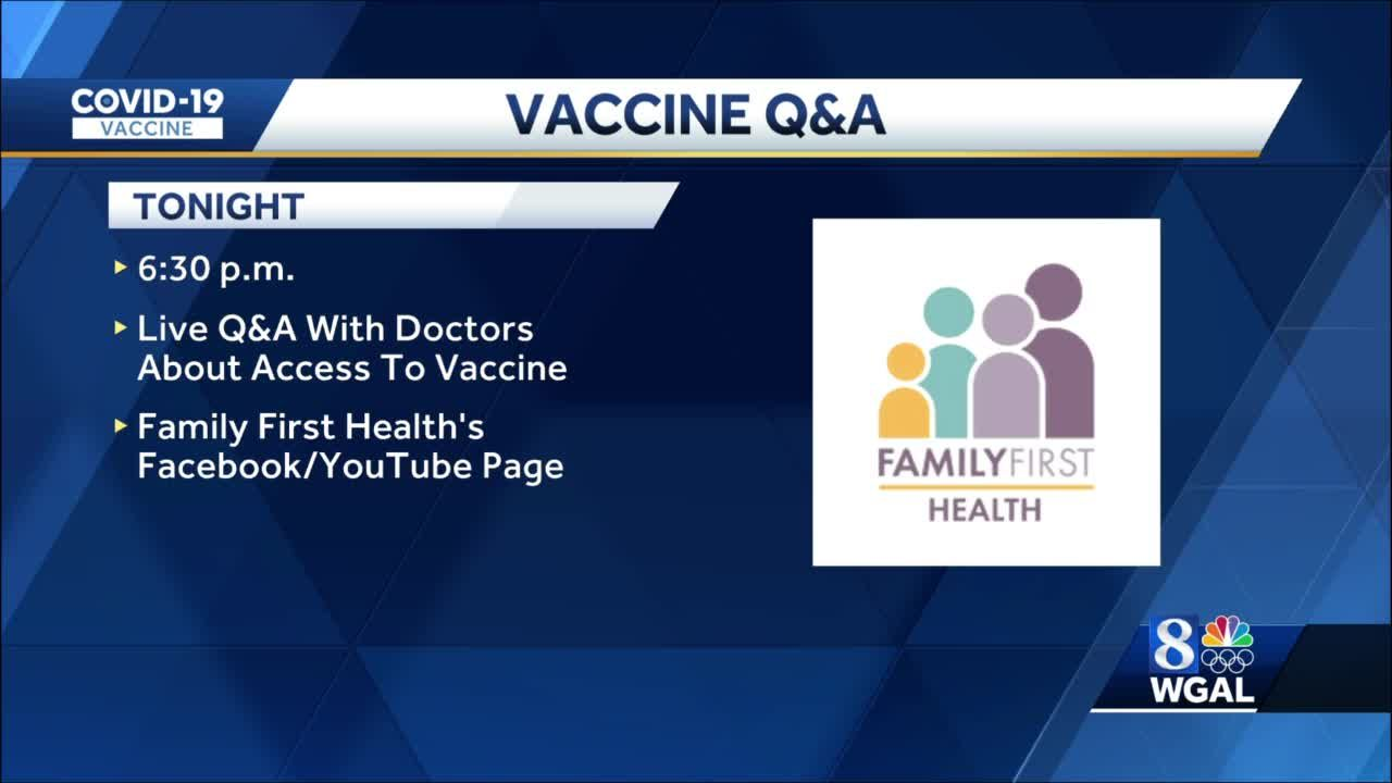 York Health clinic to hold COVID-19 vaccine Q&A