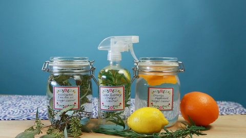 9 Homemade Household Cleaners - How to