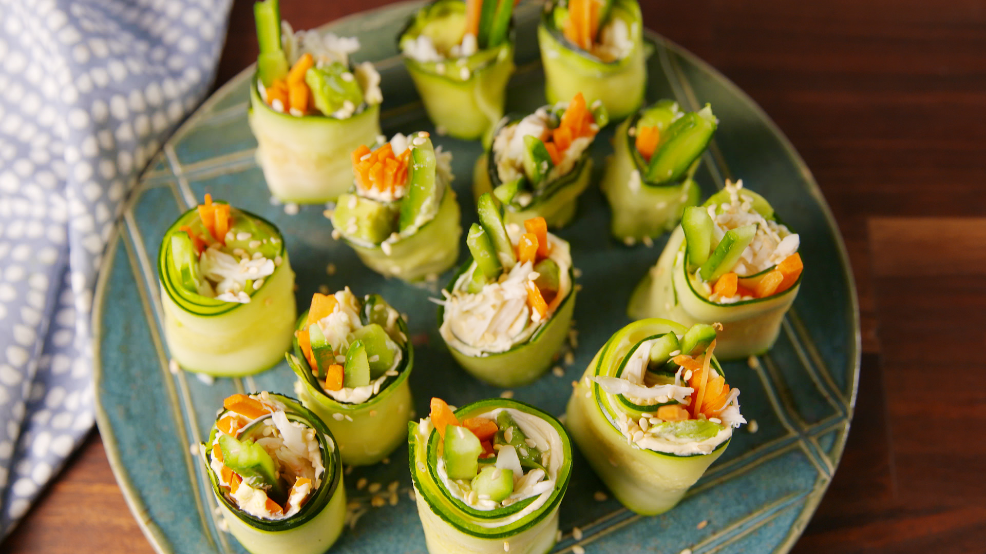 Zucchini Sushi Is Our Newest Low-Carb Obsession