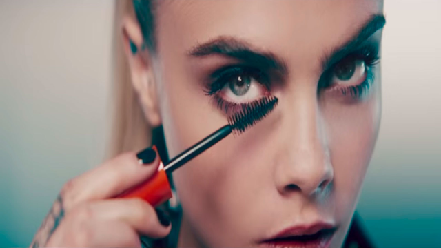 f12322703a8 Cara Delevingne's Rimmel make-up advert pulled after 'misleading customers'