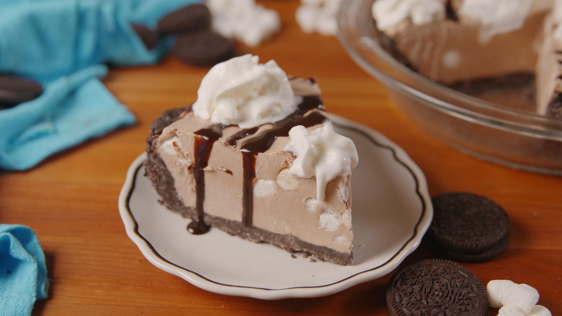 The Hottest Dessert This Summer: Frozen Hot Chocolate Cheesecake