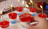 Rocket Jello Shots