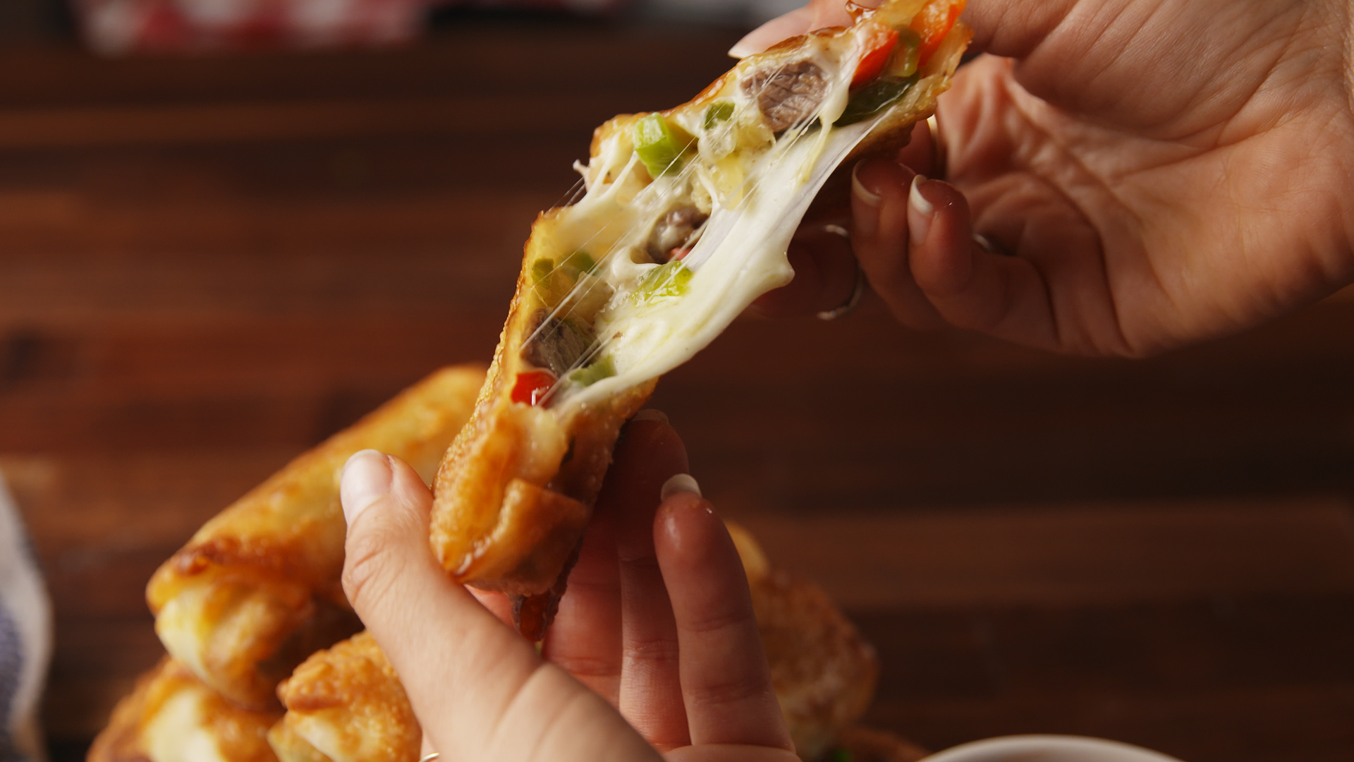 Cheesesteak + Egg Rolls = Greatest Mashup Of All Time