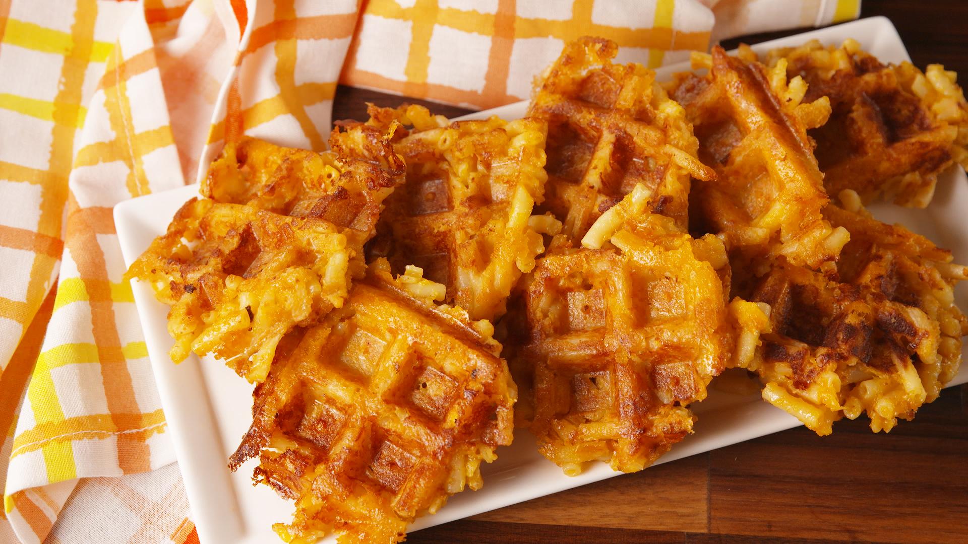 Mac 'N Cheese Waffles