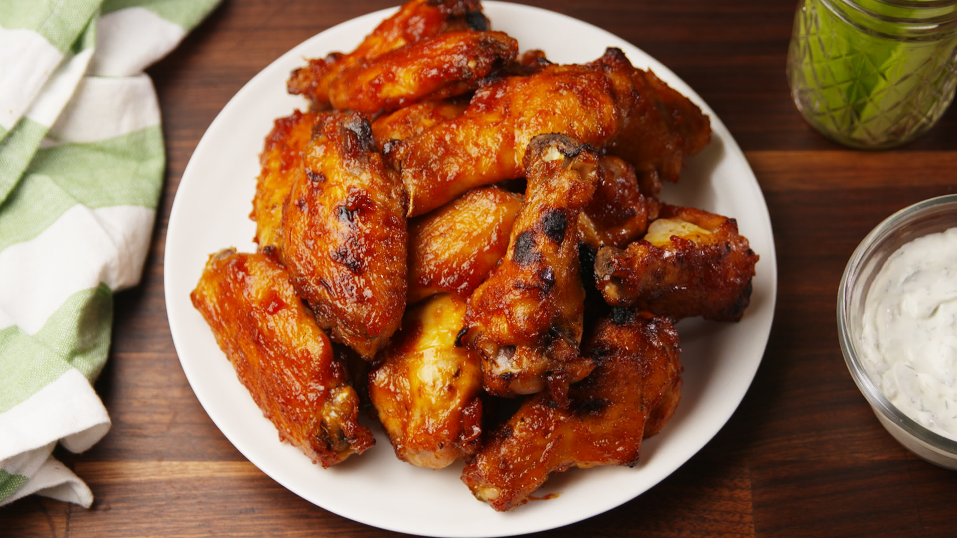 Bloody Mary Wings