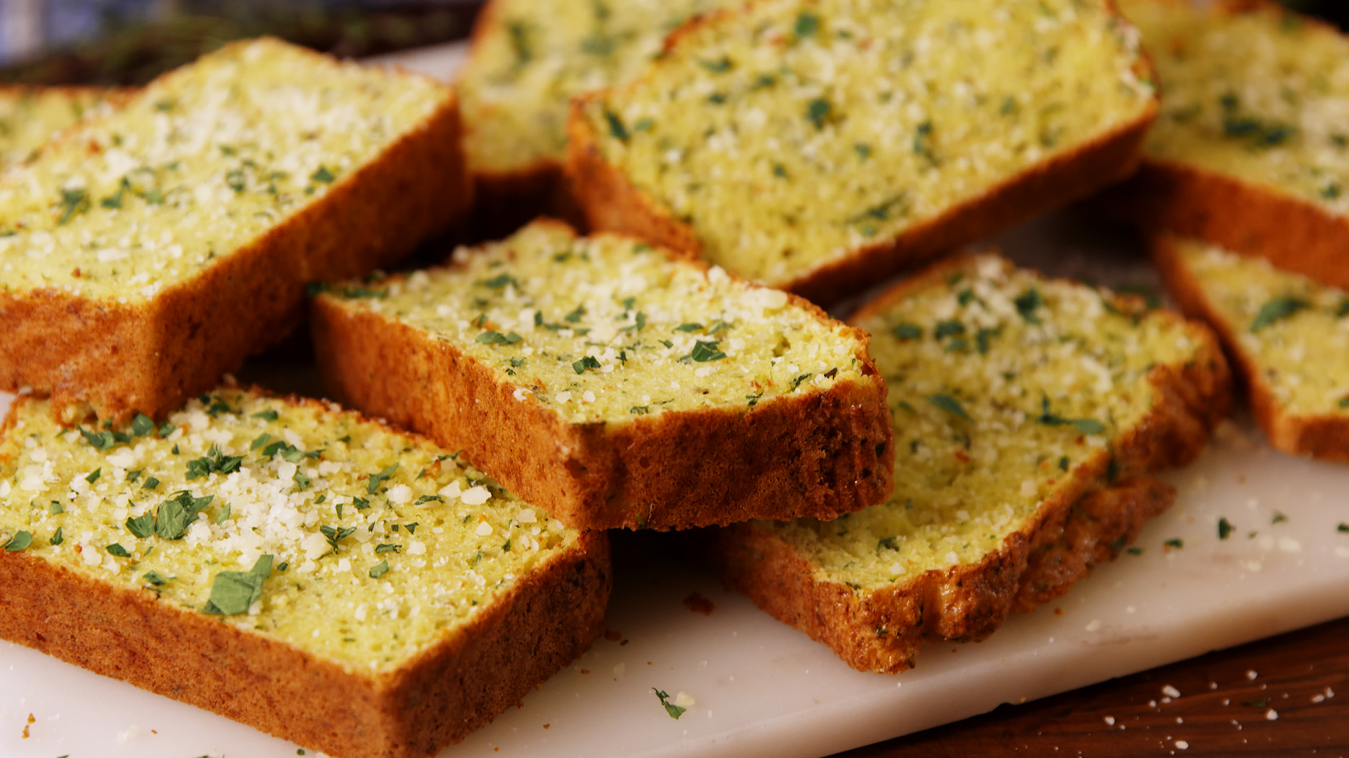 Cauliflower Garlic Bread Defies All Logic