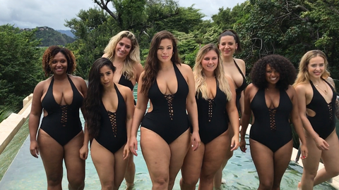 f9a806baaa Ashley Graham Swimsuits for All Collection - Ashley Graham Swimsuit Line For  All Sizes