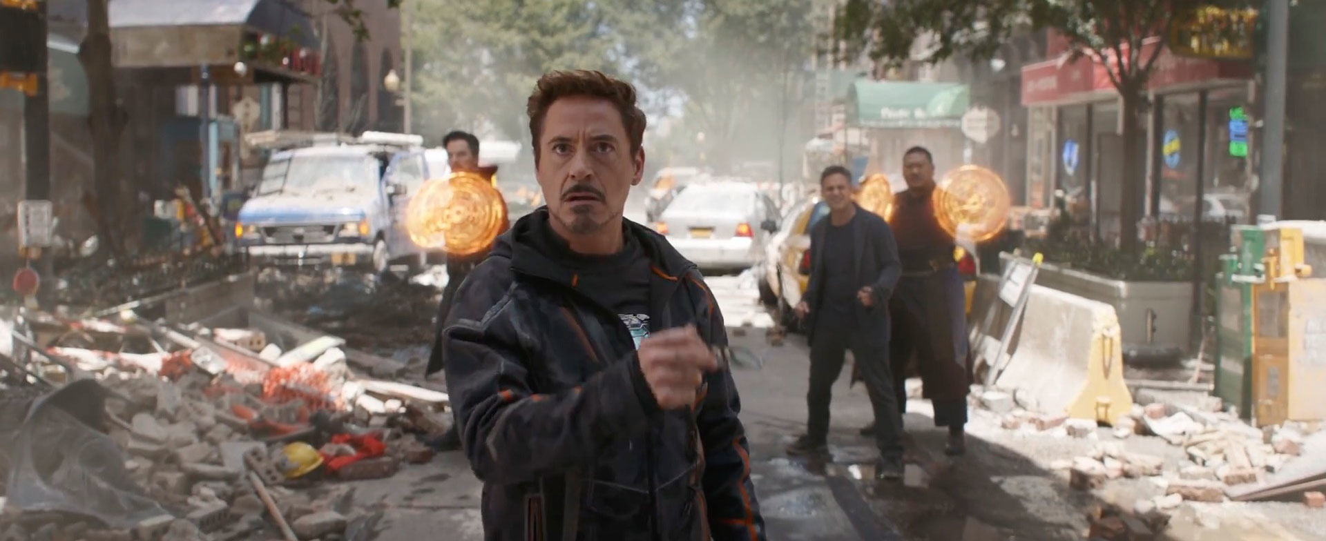 Avengers: Infinity War reveals new Iron Man suit with WINGS and a new arm – plus a new look for Black Widow