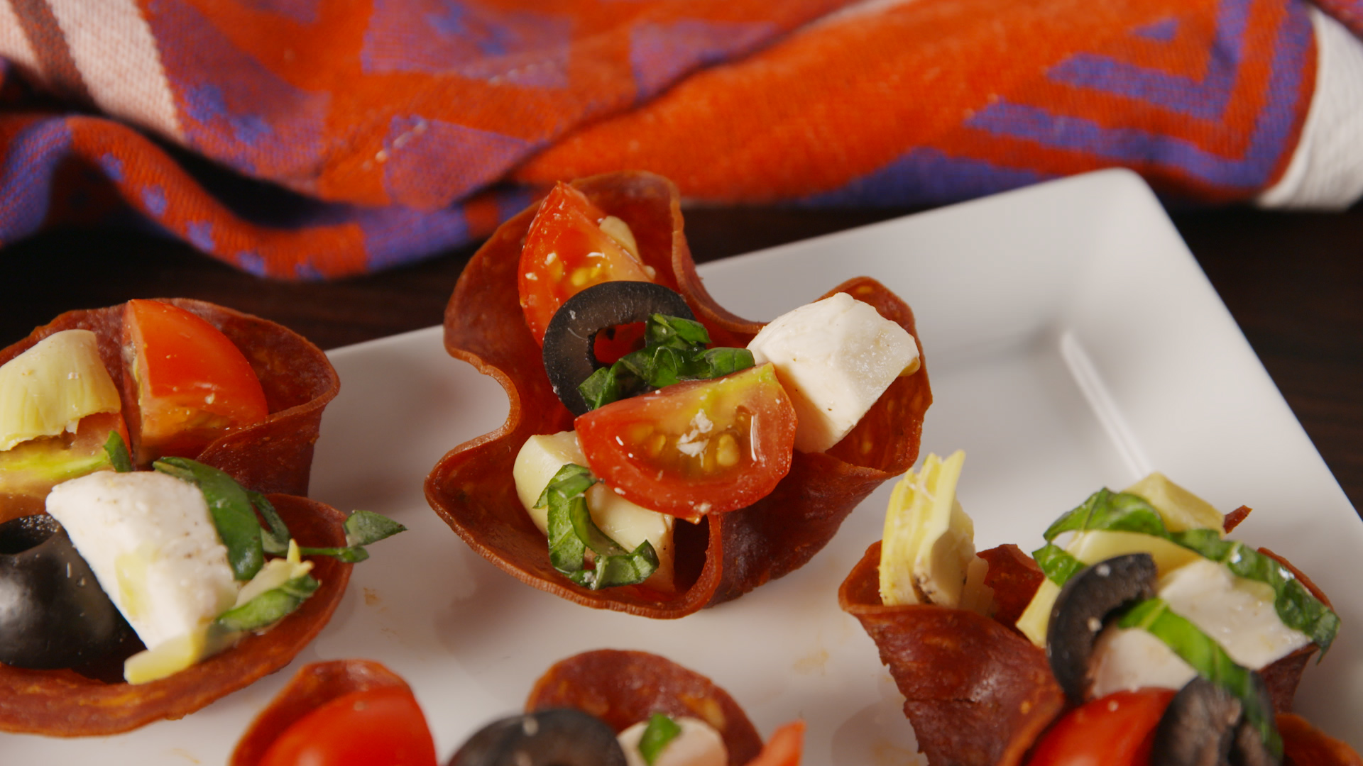How To Make Low-Carb Antipasto Cups How To Make Low-Carb Antipasto Cups new images