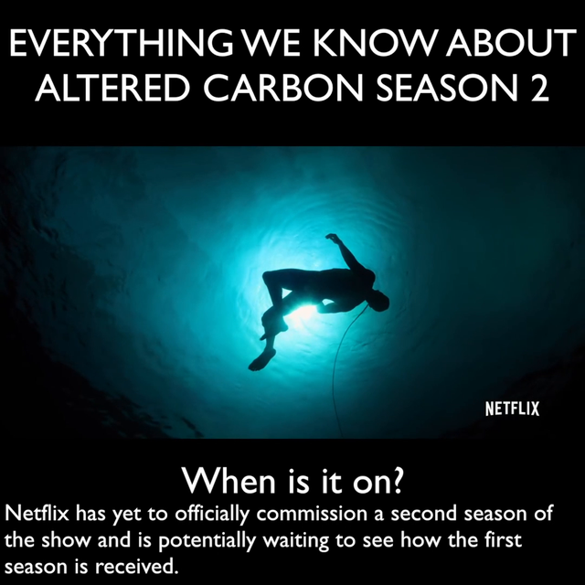Altered Carbon season 2 on Netflix: Release date, cast, plot