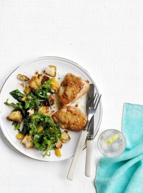 Easy Chicken Dinner Recipes- Roasted Citrus Chicken Salad
