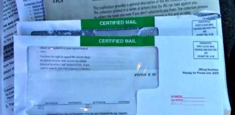 Why Would The Irs Send A Certified Letter.Irs Sends Couple A Bill For How Much