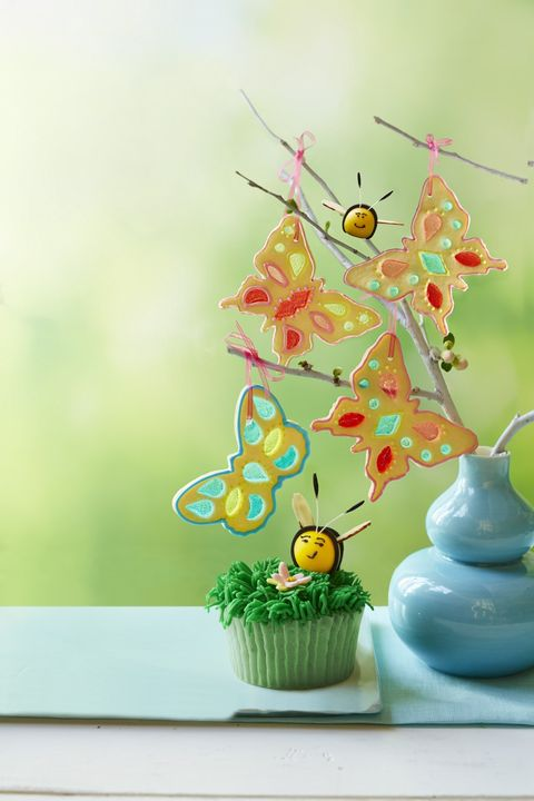 Stained Glass Butterfly Cookies Recipe