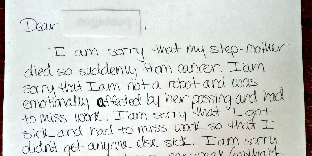 did this school worker u0026 39 s resignation letter go too far
