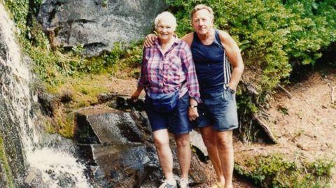 Leg, Jeans, Shorts, People in nature, Vacation, Travel, Watercourse, Stream, Denim, Bermuda shorts,