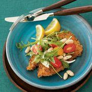 Food, Tableware, Dishware, Kitchen utensil, Cuisine, Cutlery, Recipe, Fried food, Ingredient, Plate,