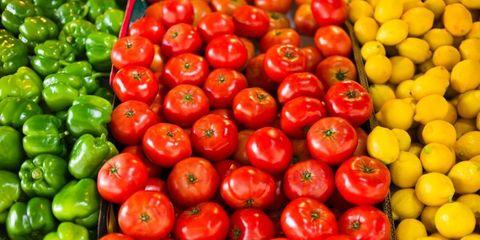 Whole food, Vegan nutrition, Local food, Natural foods, Red, Produce, Food, Ingredient, Fruit, Vegetable,