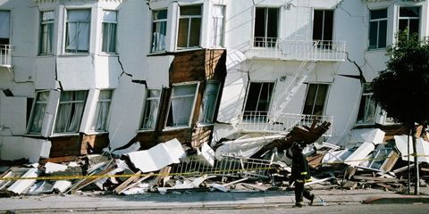 Earthquake Damage in California