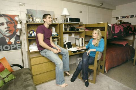 See how much college dorm rooms have changed over the past 100 years image courtesy of uw madison archives publicscrutiny Choice Image