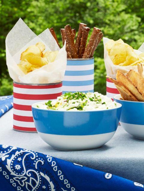 4th of july menu   ricotta dip