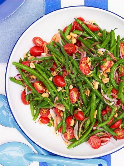 bbq side dishes  green bean salad