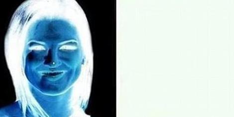optical scary amazing negative