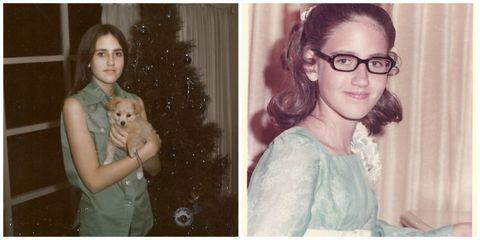 Donna Stoneham as a Teen
