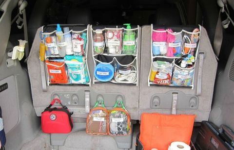 Bag, Luggage and bags, Trunk, Baggage, Vehicle door, Box, Plastic, Suitcase,