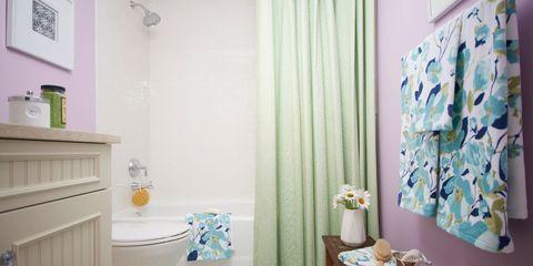 Room, Interior design, Textile, Floor, Flooring, Wall, Interior design, Teal, Purple, Turquoise,