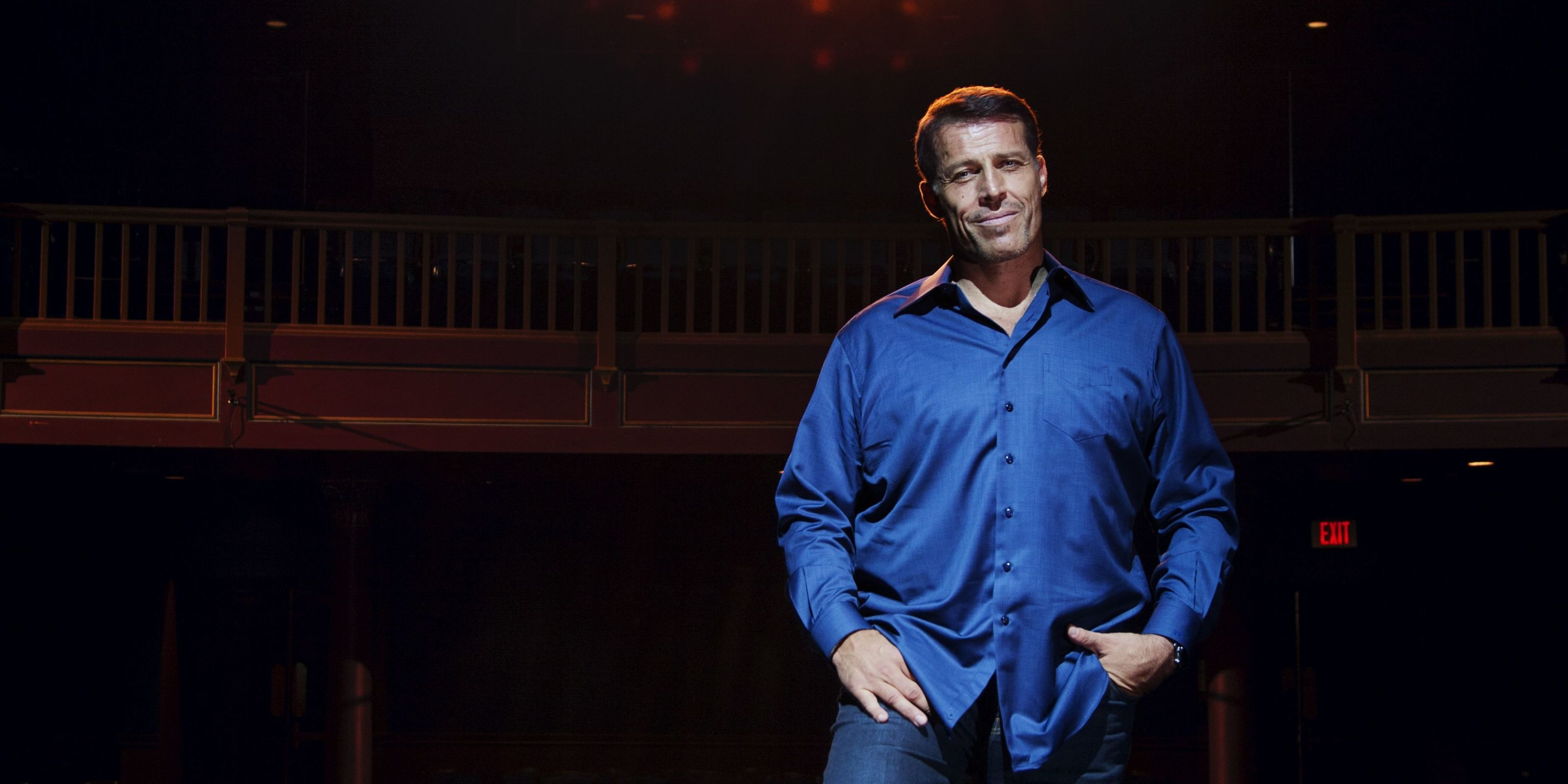 Tony Robbins on The Profound Moment That Inspired Him To End Hunger Nationwide