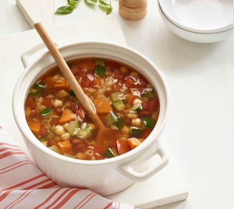 Sweet Potato, Bean, and Rice Soup