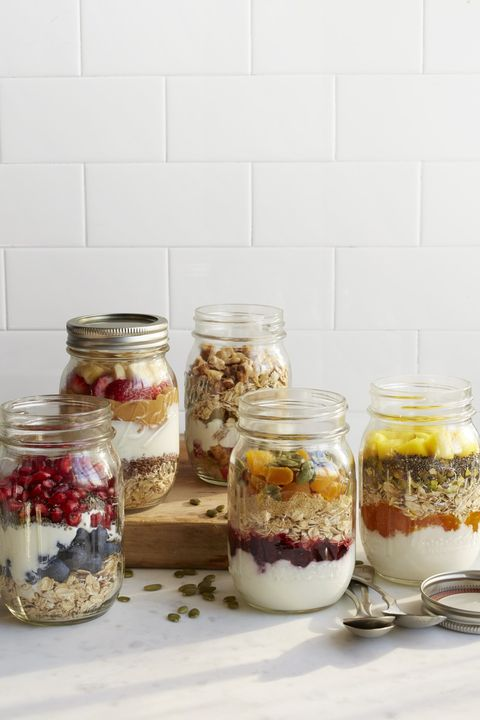 Pomegranate and Blueberry Jars
