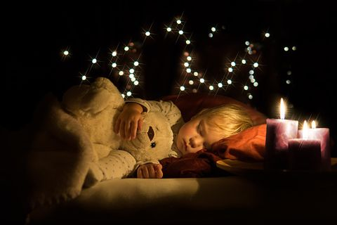 Holiday, Comfort, Darkness, Christmas lights, Teddy bear, Christmas decoration, Christmas, Fur, Christmas eve, Candle,
