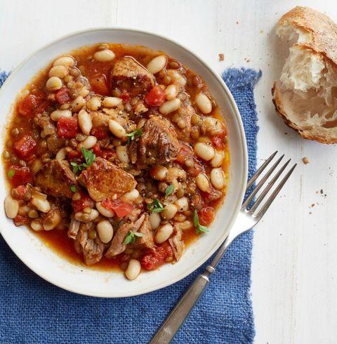 Stewed Pork and White Beans