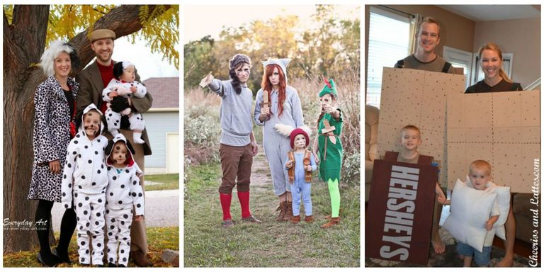 40 Best Family Halloween Costumes 2017 - Cute Ideas for Themed ...