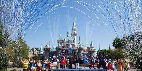 Walt disney world, Landmark, World, Amusement park, Space, Tourist attraction, Spire, Turret, Castle, Park,