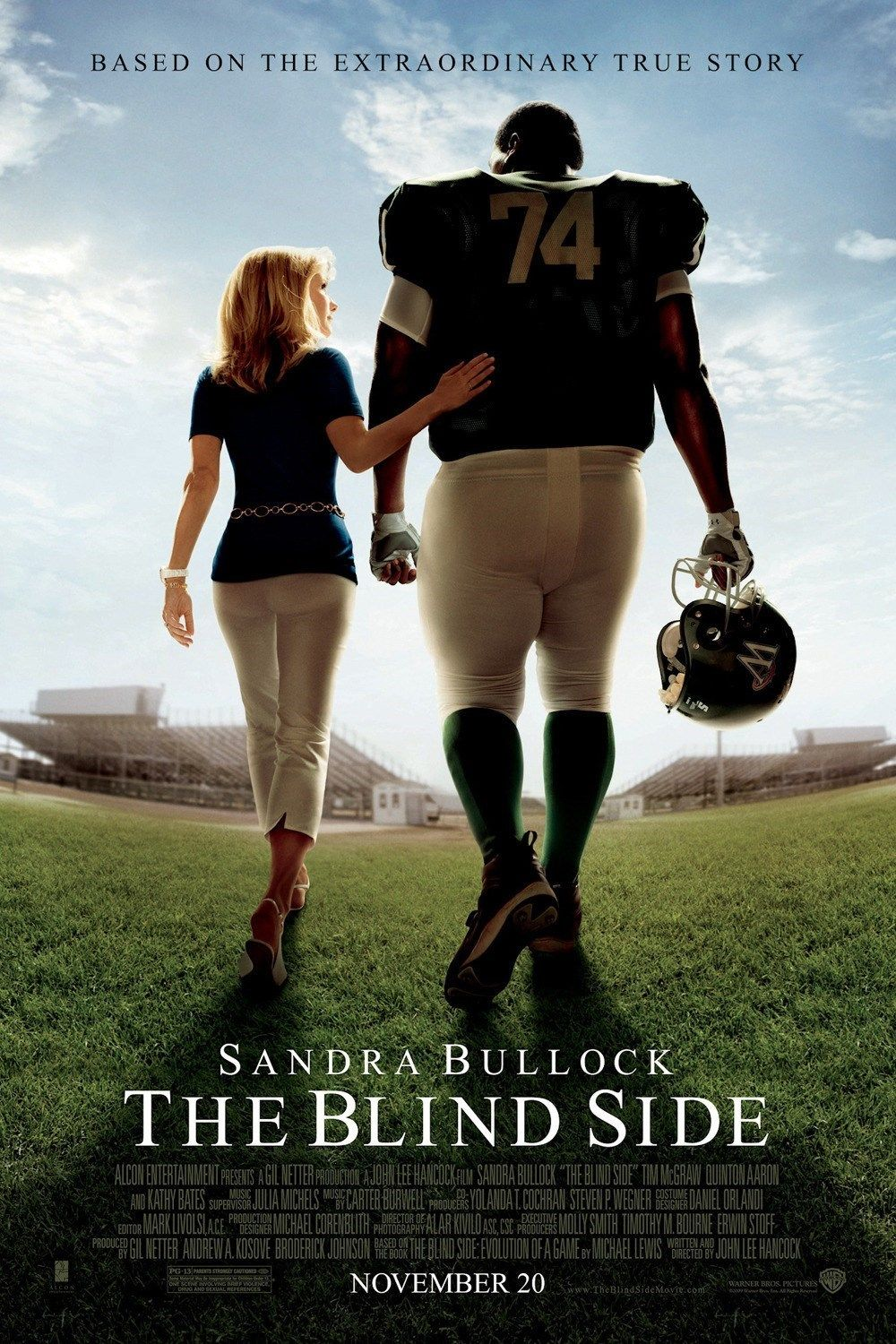 the blind side thanksgiving movie