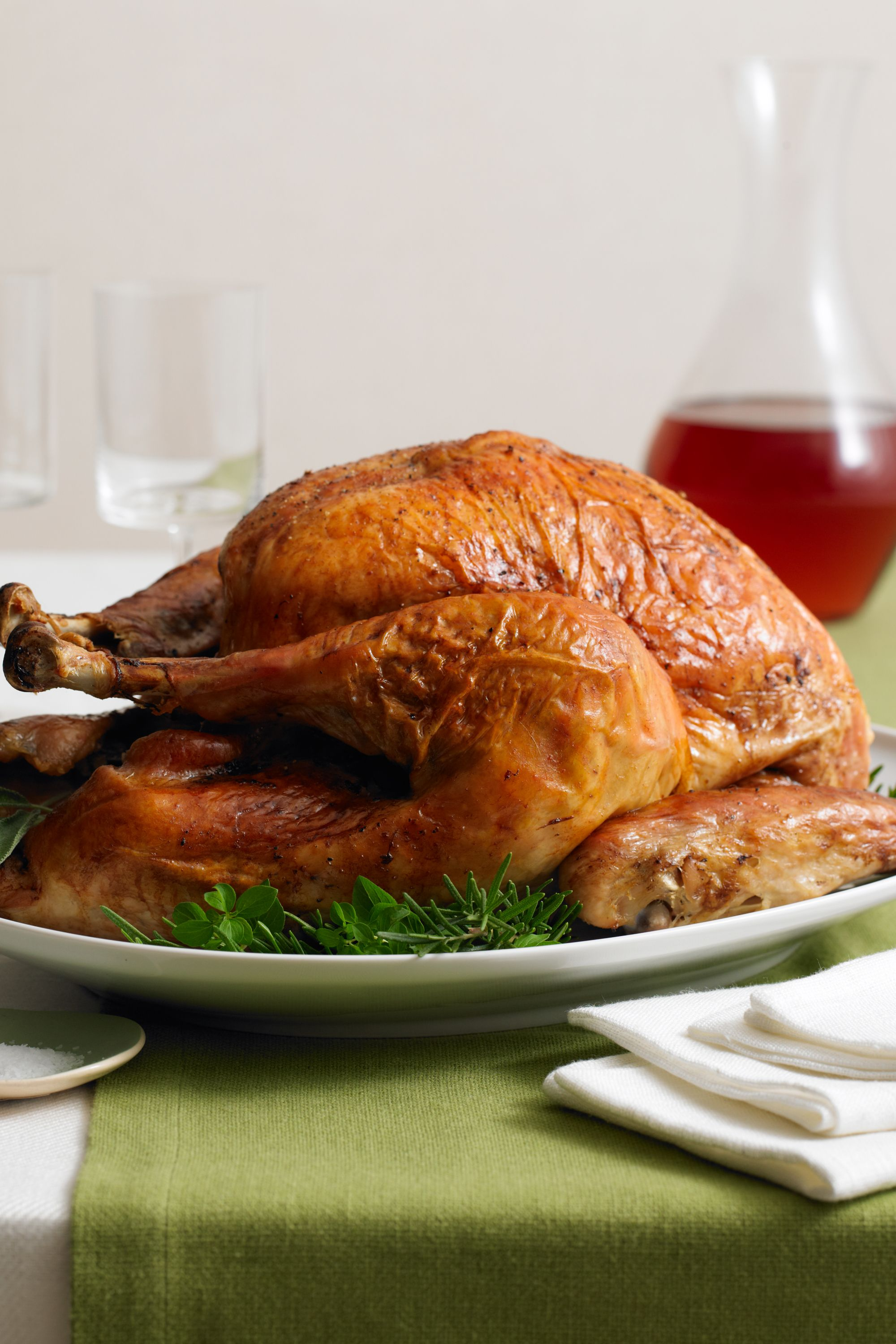 Herb-Rubbed Turkey with Chardonnay Gravy recommendations