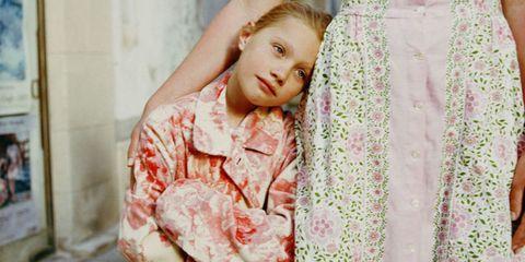 Eye, Sleeve, Textile, Pink, Pattern, Eyelash, Peach, Linens, Military camouflage, Pattern,