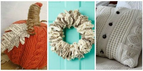 diy sweater upcycle