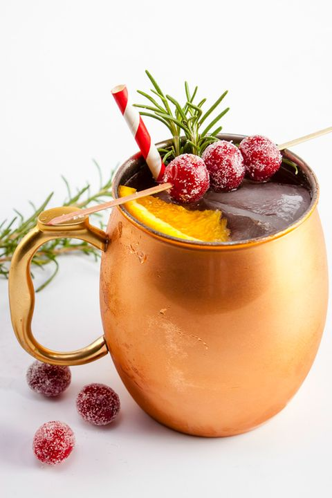 Christmas Cocktails Holiday Mule