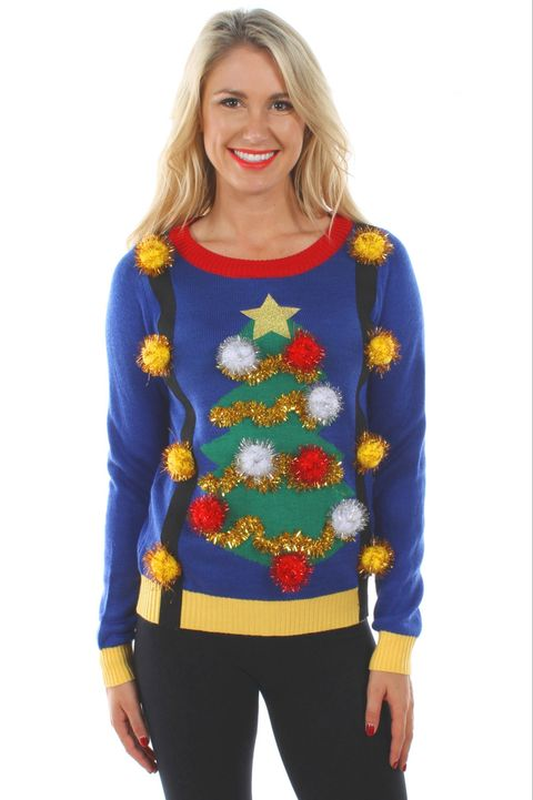 0c46d2b66e83d 22 Ugly Christmas Sweater Ideas to Buy and DIY - Tacky Christmas ...