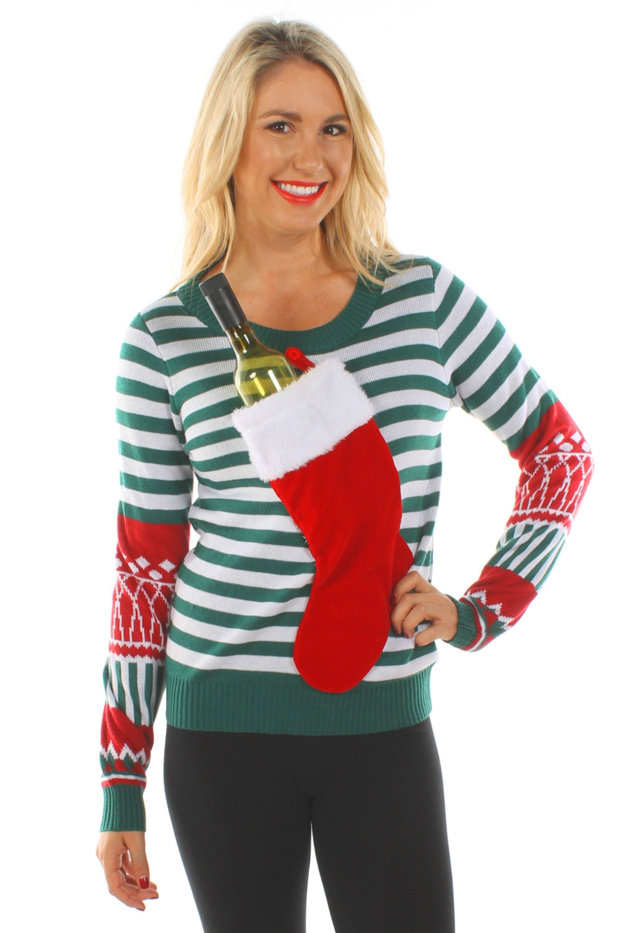48f104b91332 22 Ugly Christmas Sweater Ideas to Buy and DIY - Tacky Christmas Sweaters  for Women