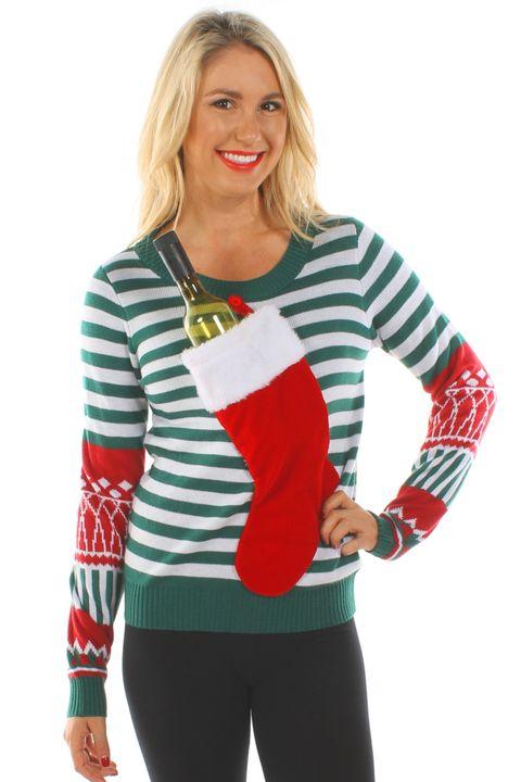8ff1b2f2663 22 Ugly Christmas Sweater Ideas to Buy and DIY - Tacky Christmas ...
