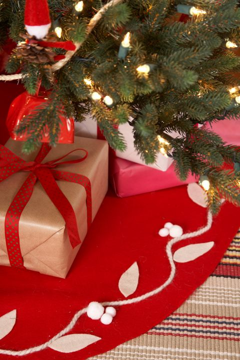 christmas decorating ideas tree skirt - Christmas Decoration Gift Ideas