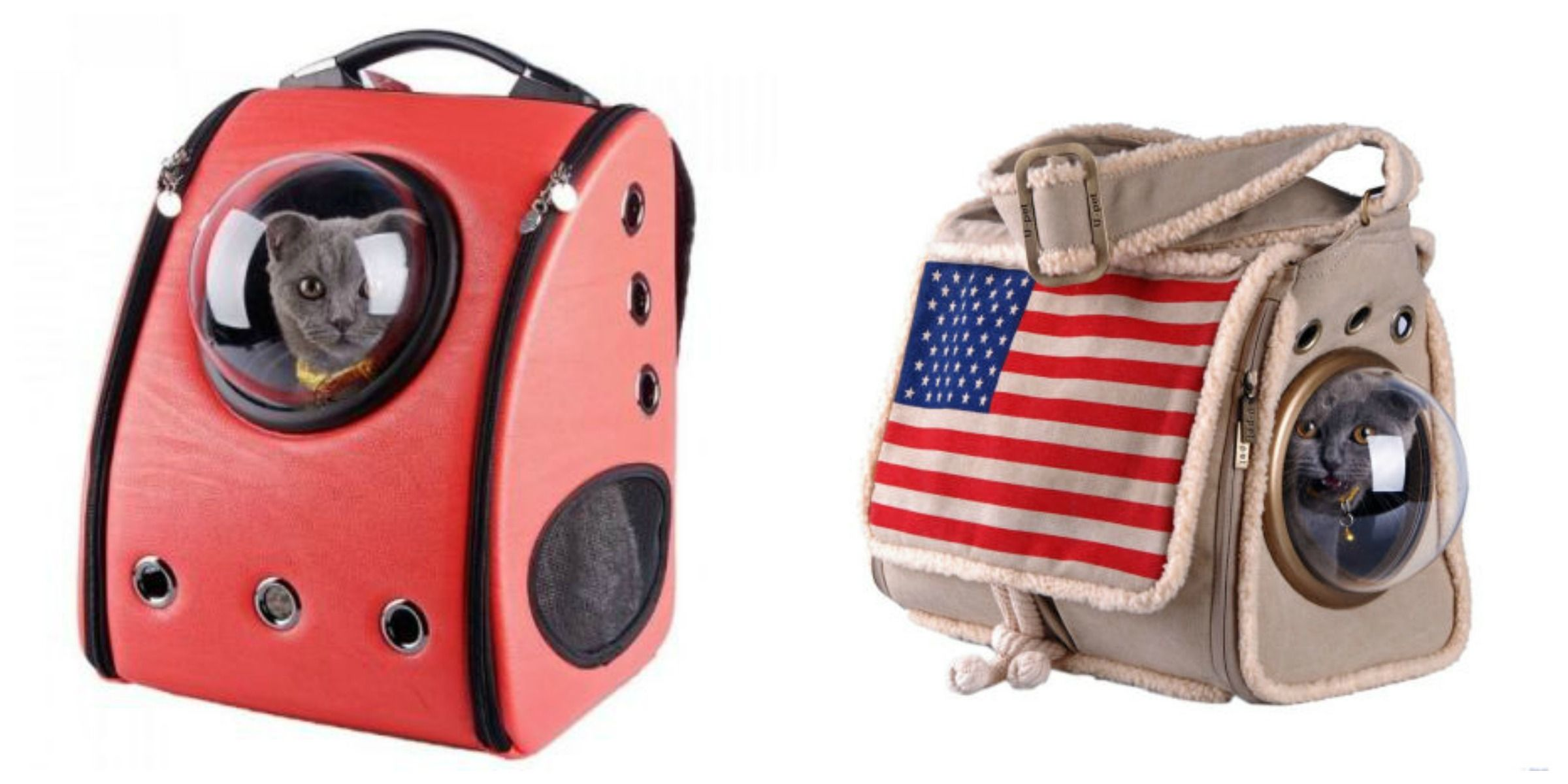 This Is the Astronaut-Inspired Backpack You Never Knew Your Cat Needed