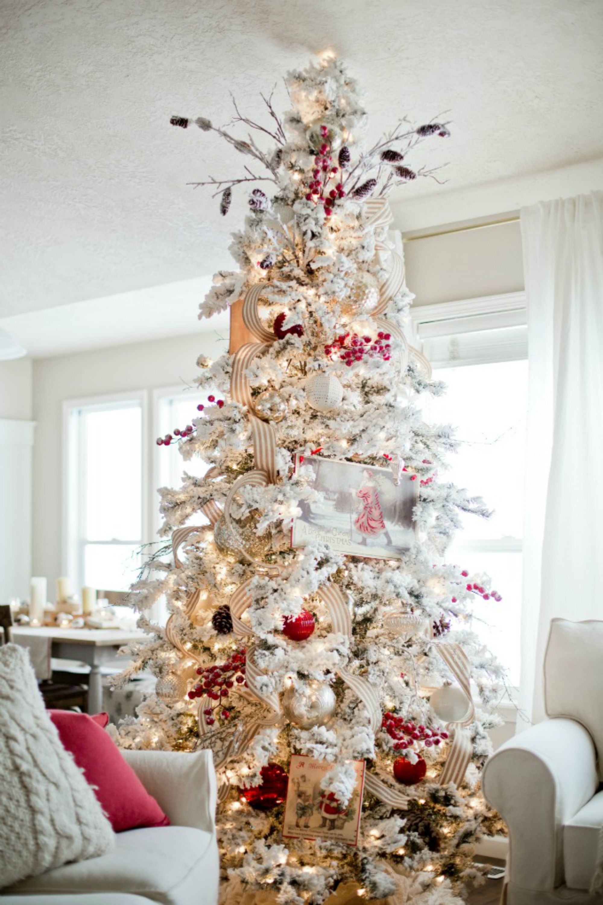 Frosted Christmas Tree Decorations  1449174802 Xmast1o